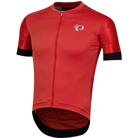 PEARL iZUMi Elite Pursuit Speed Maillot Manga Corta Hombre, torch red stripe